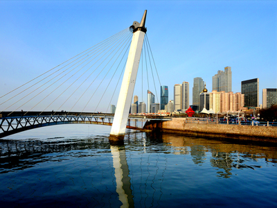 Landscape Bridge of Qingdao Olympic Sailing Center